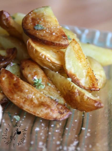 recette pommes de terre au thym