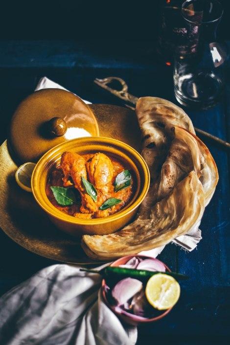 Poulet sauce coco et cacahuète